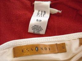 4 tank tops 2 long sleeve shirts 1 pair shorts size small women's Gap Jones NY + image 3