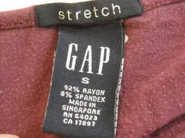 4 tank tops 2 long sleeve shirts 1 pair shorts size small women's Gap Jones NY + image 4