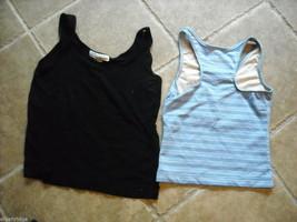 4 tank tops 2 long sleeve shirts 1 pair shorts size small women's Gap Jones NY + image 5