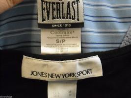 4 tank tops 2 long sleeve shirts 1 pair shorts size small women's Gap Jones NY + image 6