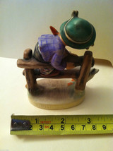 "Goebel Hummel ""Barnyard Hero"" #195 Figurine - West Germany Stamped image 3"