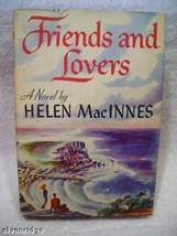 Friends and Lovers vintage book 1947 Helen MacInnes