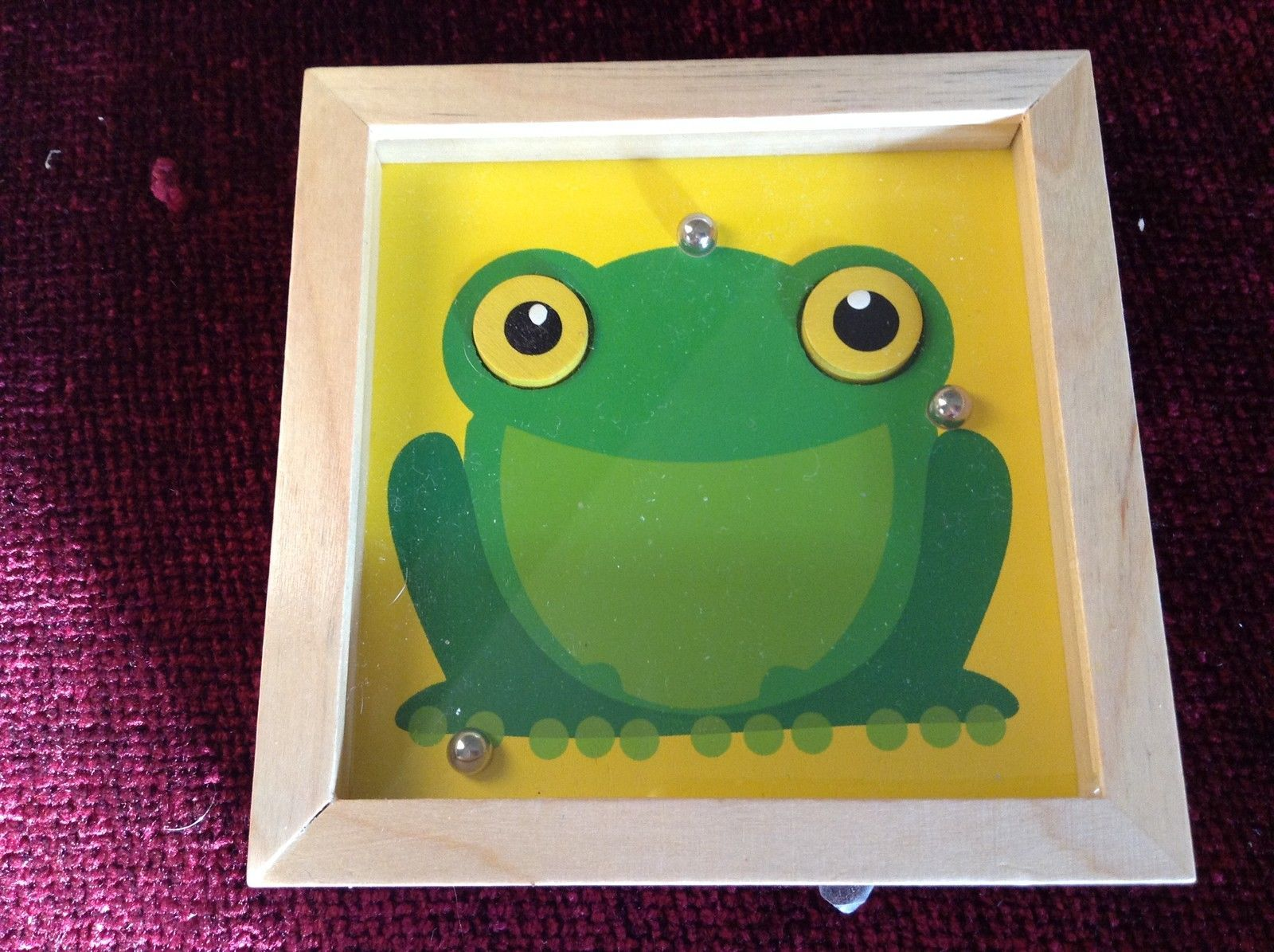 Frog Tip and Tilter Ball Puzzle Collectably Cute Animal Games House of Marbles