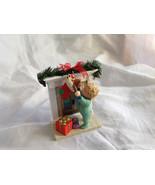 Hallmark Keepsake Reaching for Christmas Ornament Scene Near Fireplace O... - $39.99