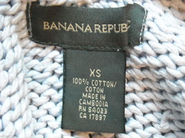 Five knit sweaters women's small Banana Republic American Eagle Perry Ellis image 6