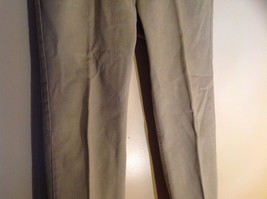 Five Pocket Arizona Khaki Jeans Zipper Button Closure Classic Fit Size 34 by 30 image 3