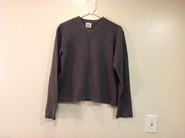 GAP Gray V-neck Sweater, NO Size Tag (see measurements below)