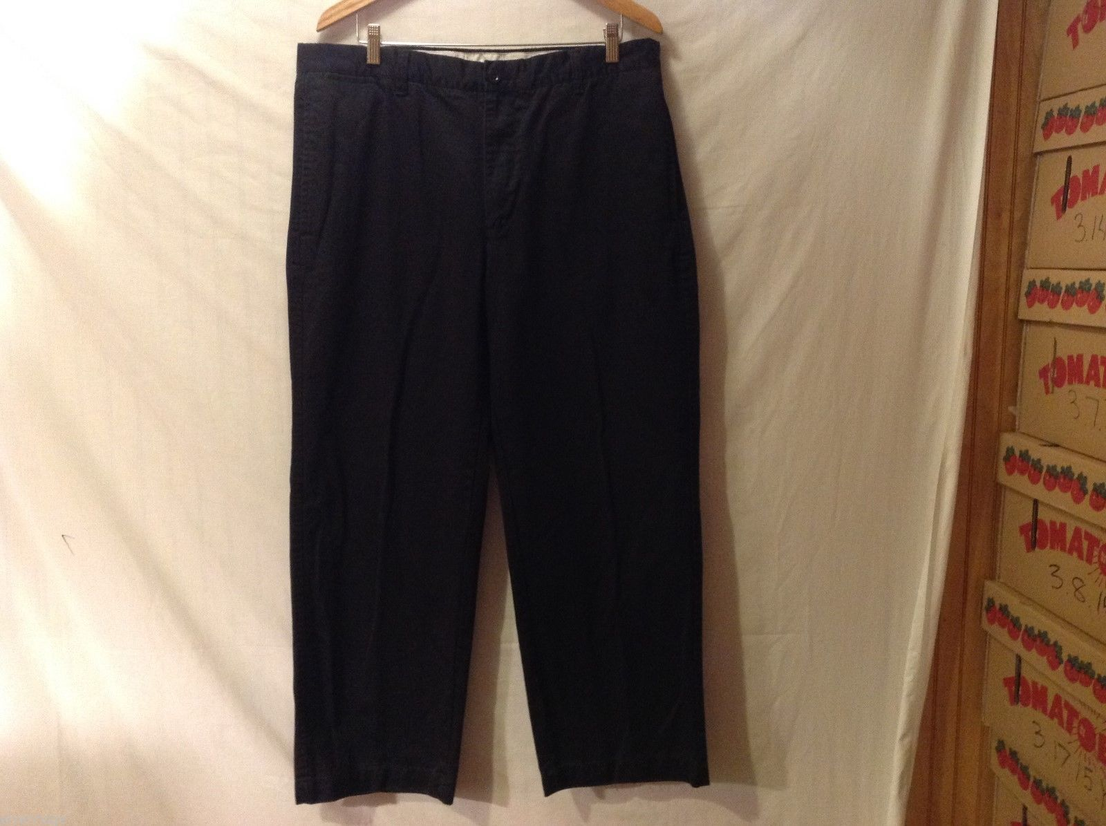 GAP Mens Navy Blue Pants, Size 38X30