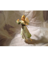 Hallmark The Gift of Love Green Holiday Angel Ornament Ribbon for Hanging - $39.99