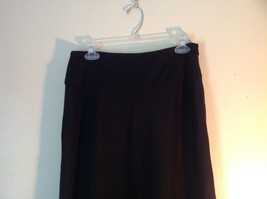 Focus Lifestyle Black Long Skirt Size Small Side Zipper Closure image 3