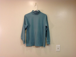GAP Soft Turquoise (Blue/Green) 100% cotton Turtleneck Sweater, Size M