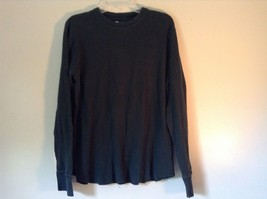 GAP Size Large Long Sleeve Athletic Fit Green 100 Percent Cotton Shirt image 1