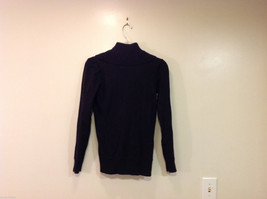 Forever 21 Slouch Cowl-Neck Black Long Sleeve Pullover Sweater, size S image 2