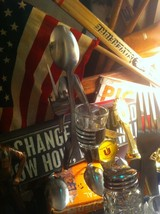 Forked Up Art  USA made flipping the bird tequila whisky shot image 3