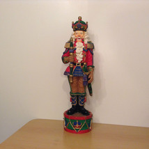 Galleria Lucchese Roman 1994 Collectable Hussar Nutcracker Hand Painted