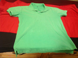 Gap Green/Lime Classic Fit Mens Short Sleeve Polo Shirt Size Medium