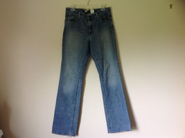 Gap Boot Cut Denim Long Jeans Five Pockets Button Zipper Closure Size 10 Long