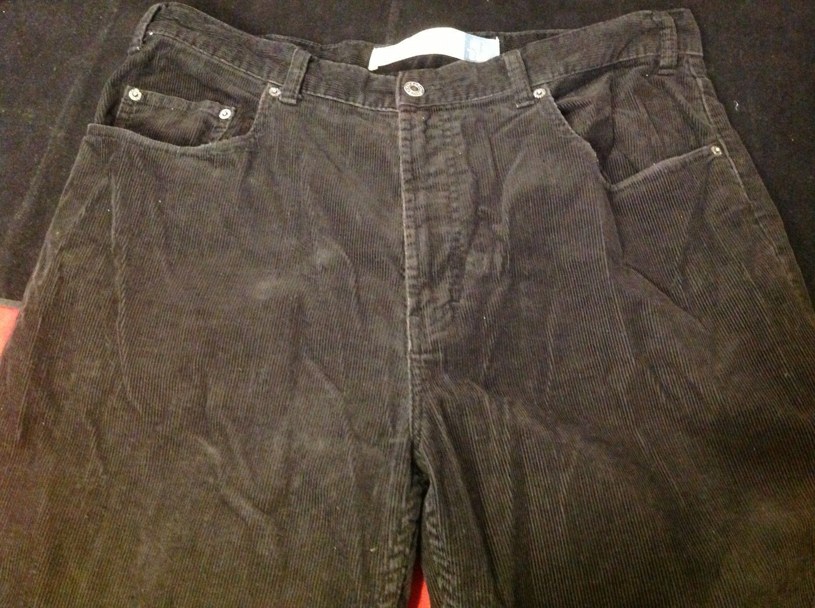 Gap blue jeans corduroy pants for man size 38w 34l easy fit