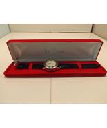 Genuine Leather Swiss Le Vian Men's Wristwatch - $693.00