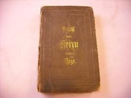 German Book: Gesangbuch Die Evangelische Kirche  1883