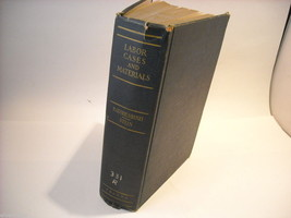 Hardcover Book- Labor Cases and Materials image 1