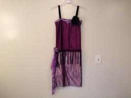 Handmade Dark Light Violet Sleeveless Evening Dress 20s Style Size Small Flapper