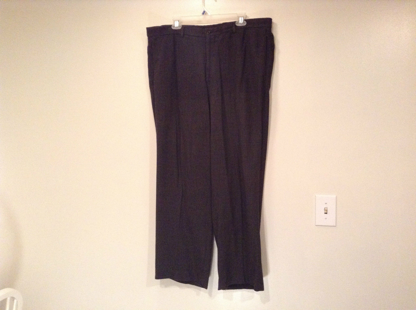 Giorgio Armani Thin Wool Pleated Front Dress Pants No Size Tag See Measurements