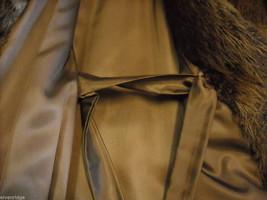 Full length Long hair Beaver coat image 10