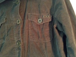 French Cuff Size XL 100 Percent Cotton Green Jacket with Studs image 2
