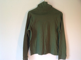 Hasting and Smith Green Long Sleeve Turtleneck Top Size Large