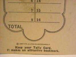 40 Antique Bookmarks Daniel Webster Flour image 3