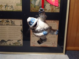 Holiday Ornament 50th Anniversary Bumble in Tinsel from Rudolph Tag Attached image 1