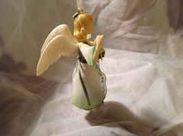 Hallmark The Gift of Love Green Holiday Angel Ornament Ribbon for Hanging image 3