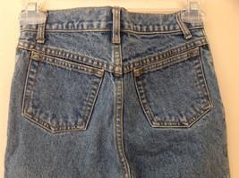 GAP Medium Blue Denim Jeans 5 Pockets Button and Zipper Closure Size 10 Regular image 6