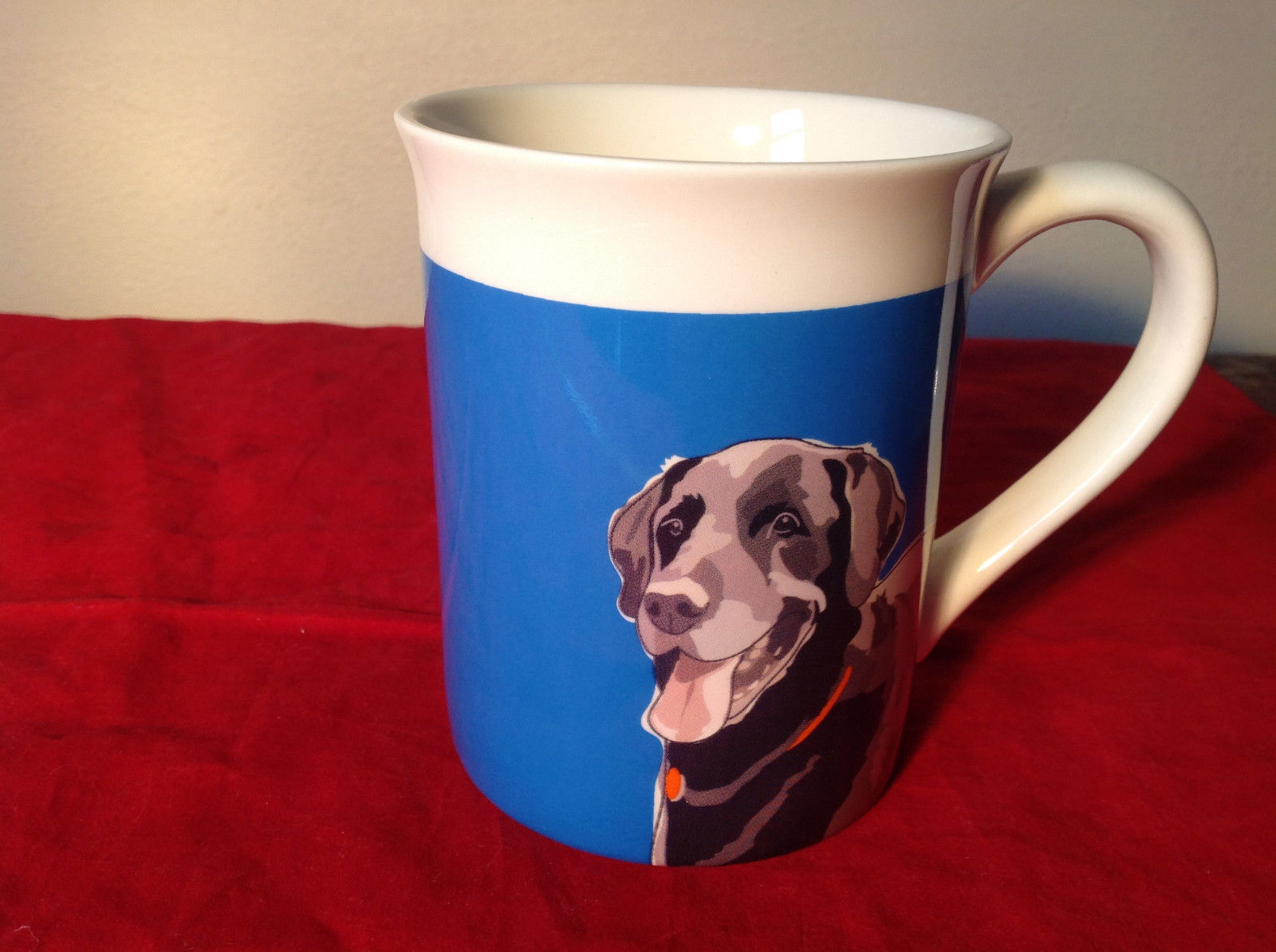 Go Dog Black Lab Mug by Paper Russells w Original Box 16 ounces Department 56