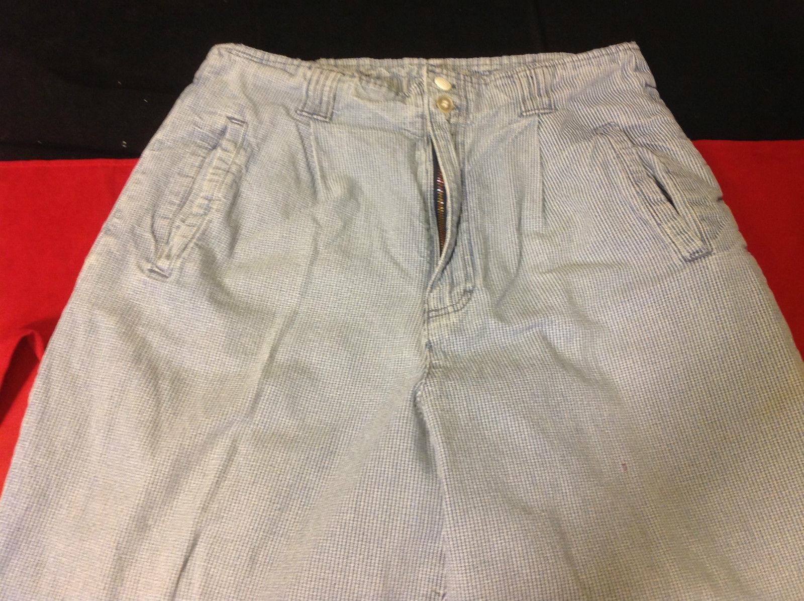 Gloria Vanderbilt Ladies Light Blue Denim Jeans 16 Inch W 41 Inch L