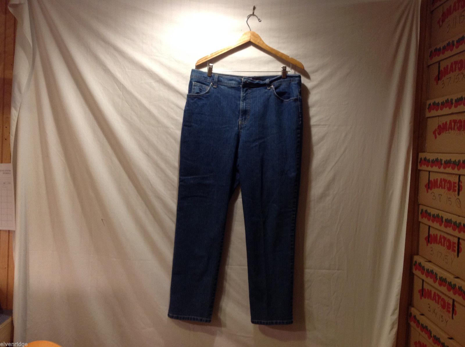 Gloria Vanderbilt Medium Blue Wash Jeans Pants, Size 16 Great condition