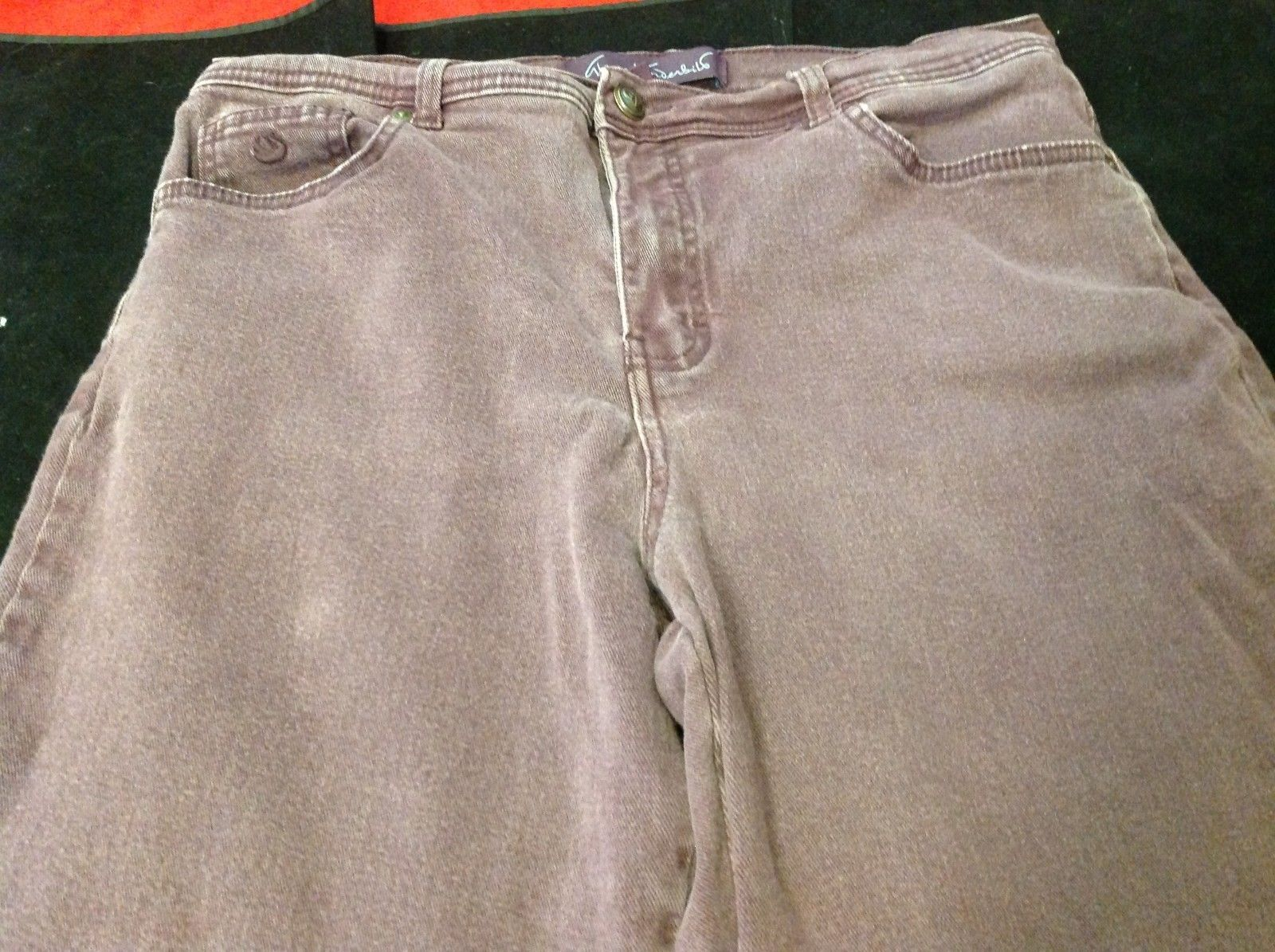 Gloria Vanderbilt Purple Jeans for woman size 12