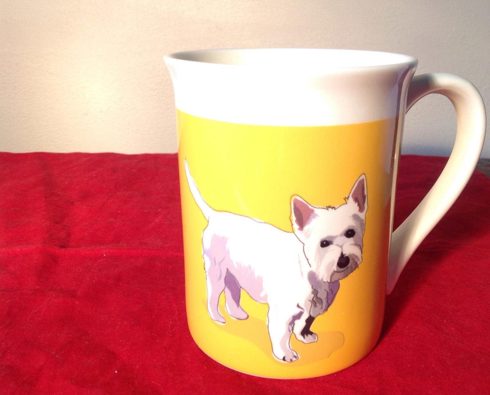 Go Dog Westie Mug by Paper Russells w Original Box 16 oz Department 56