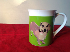 Go Dog Dachshund Mug by Paper Russells w Box 16 ounces Department 56 image 1