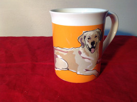Go Dog Golden Retriever Mug by Paper Russells w Original Box 16 oz Department 56