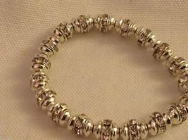 4 steampunk mod industrial glam black silver crystal metal element bracelet #4 image 7