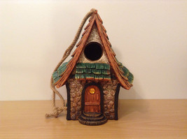 Garden Guardian Birdhouse Department 56 Choice of Green or Brown Roof image 11