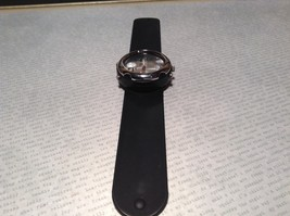 Geneva Quartz Watch Four Fake Buttons on Side Removable and Snap on Wristband image 2