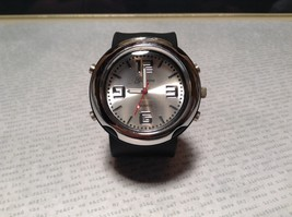 Geneva Quartz Watch Four Fake Buttons on Side Removable and Snap on Wristband image 4