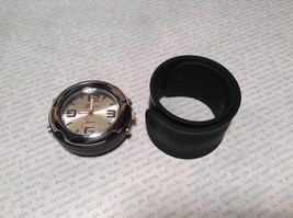 Geneva Quartz Watch Four Fake Buttons on Side Removable and Snap on Wristband image 6