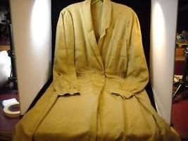 Golden Moss Colored Frock Dress - $29.69
