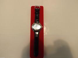 Genuine Leather Swiss Le Vian Men's Wristwatch image 2