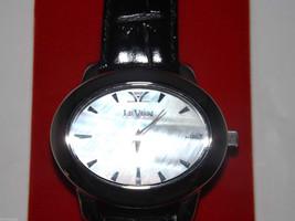 Genuine Leather Swiss Le Vian Men's Wristwatch image 3