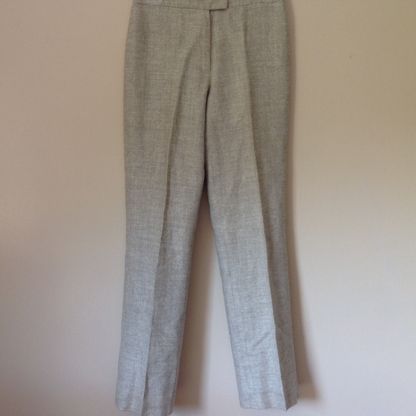 Gorgeous Dress Pants by Anne Klein Petite Light Colors Imported Fabric Size 4